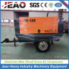 330cfm 8bar High Quality Trailer Mounted Diesel Screw Air Compressor