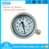Ybf60A Dial Size 2.5inch 63mm Full Stainless Steel Pressure Gauge Manometer 160psi Thread 1/4 NPT PT G