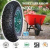 Rubber Wheel Carretilla Neumatico Wheelbarrow Wheel Wheelbarrow Tyre Tube 3.50-7 3.50-8