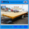 3 Axles Flabed Semi Trailer for Loading Container