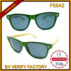 F6842 New Style Unisex Fashion Sunglasses Bmboo Arms