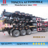 Tongya Tri-Axle Skeleton Container Chassis Semi Trailer