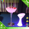 Plastic Color Changing LED Furniture