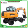 Factory Supply High Quality 6t 0.25cbm Wheel Excavator