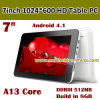 7 Inch HD LCD Screen Android Tablet