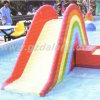 Fiberglass Rainbow Slide for Children (WS-036)