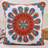 Cotton Canvas Embroidery Cushion Fashion Pillow (GL04-561)