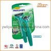 Triple Stainless Steel Blade Disposable Shaving Razor (LA-8421)