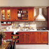 Bck Solid Wood Red Luxurious Kitchen Cabinet Factory Furniture