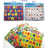 Fridge Magnetic Alphabet Letters with Puzzle Board