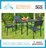 Outdoor Furniture Garden Furniture PS Chair Table Dining Set (ICE-027)