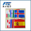 Custom Different Cheap Countries National Flags for Olympic Games