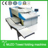 High Quality Automatic Tower Folding Machine, Laundry Equipment Sheet Folder