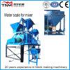 Manual Concrete Mixers Js1000 (50m3/h) , Concrete Mixer with Pump