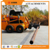 Skid Steer Loader Attachment Rotating Wire Pole Clamp