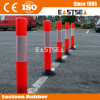 Orange Polypropylene Plastic Springback Road Flexible Delineator Post