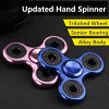 China Factory EDC Torqbar Brass Triangle Aluminum Fidget Hand Spinner Price (DC-HS01)