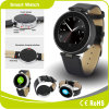 Low Price Factory Ce RoHS Leather Strap Bluetooth Smart Watch