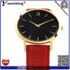 Yxl-061 Promotional Hot Sale Leather Watch Mens Vogue Japan Movemetn Fashion Wrist Watch Custom Design Men′s Watch