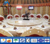 Luxury Aluminum Frame Restaurant Loge Mongolian Yurt Tent with AC