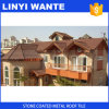 Lightweight Building Material Fashion Stone Coated Metal Roof Tile Colorful Metal Tiles