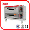 Classical Electric Oven Two Deck Two Tray for Bakery Store, High Quality Commercial Stainless Steel Deck Oven Baking Equipment Factory in China