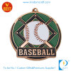 Custom Enamel Baseball Silver/Copper Zinc Alloy Medal