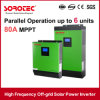 1kVA to 5kVA Power High Frequency Pure Sine Wave Solar Panel Inverter with MPPT Solar Controller