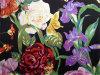 Silk Satin Print in Flower Pattern
