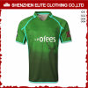 Customised Sublimated Fashion Green Rugby Jersey (ELTRJI-7)