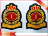 Bullion & Silk Patches Embroidered Patch Garment Woven Patch