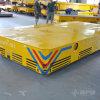 Foundry Plant Electric Motorized Trackless Handling Cart on Cement Floor