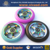 Wholesale Scooter Wheels Aluminum Core PRO Scooter Rainbow Scooter Parts
