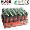 1.5V AA size carbon zinc battery R6P