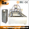 1300X2500, 2D&3D Engraving, 4 Axis, PMI Rail Guild and Screw, Yako Stepper, Multi Spindles Furniture CNC Router