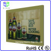 Frameless Magnetic Beer Sign Advertising Display with Acrylic Sheet Crystal Light Box