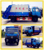 Dongfeng 4X2 8cbm Compression Garbage Truck