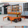 6m 8m Manual Electric Mobile Scissor Lift