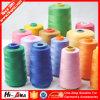 Custom Made Print Logo Hot Sale 100% Polyester Spun Yarn
