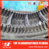 Polyester Nylon Canvas 90 Degrees Sidewall Cleated Rubber Conveyor Belt