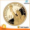 Custom James Garfield Presidential $1 Mirror Gold Coin