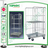 Warehouse Foldable Storage Trolley Cart