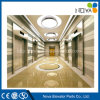 Passenger Elevator Lift with Hairline Stainless Steel Cabin and Door