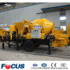 Small Mini Mobile Diesel Engine Self Loading Concrete Mixer with Pump