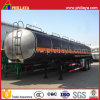 3 Axle 30m3 Bitumen Liquid Tanker Semi Trailer