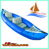Cheap Inflatable Kayak, Double Kayak, Plastic Fishing Boat