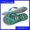 Stripe Print Cute Girls PE Outsole Flip Flops