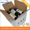 Customized Corruagated Paper Packaging 6 Bottle Red Wine Box (QYCI15111)