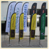 Display Feather Flags Printed Beach Flags (4.5m)
