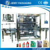 Full Automatic Flow Meter Lube Engine Oil Bottling Filling Machinery